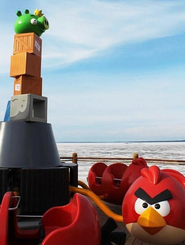 perierga.gr - Angry Birds Park: Πόσο κολλημένος είσαι;