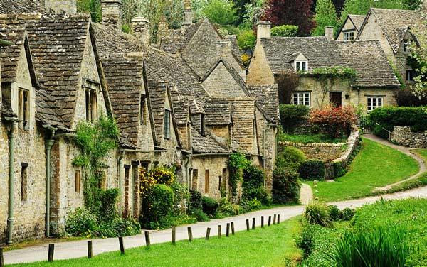 perierga.gr - Bibury: Απίστευτη ομορφιά στην αγγλική επαρχία!