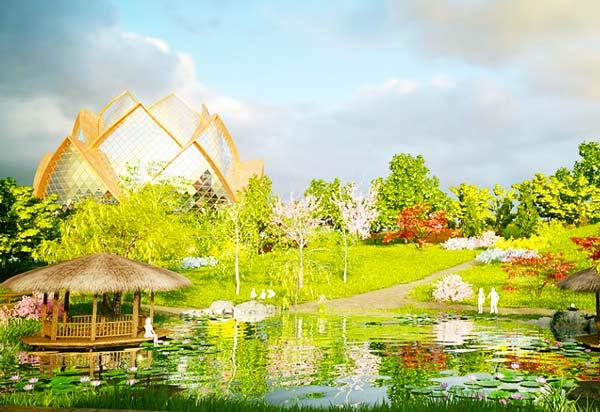 perierga.gr - Στο μέλλον οι κήποι θα φτιάχνονται στον... ουρανό!