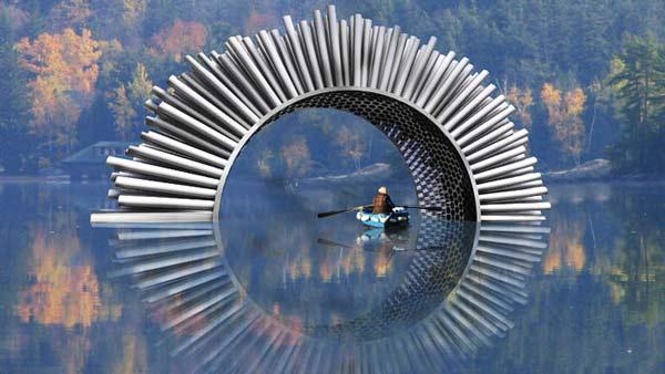 Aeolus: Ένα μουσικό γλυπτό... τραγουδάει τον άνεμο!