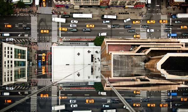 perierga.gr - Φωτογραφίες της Ν. Υόρκης προκαλούν... ίλιγγο!