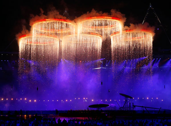 perierga.gr - Απίθανες στιγμές στην τελετή έναρξης των Ολυμπιακών!
