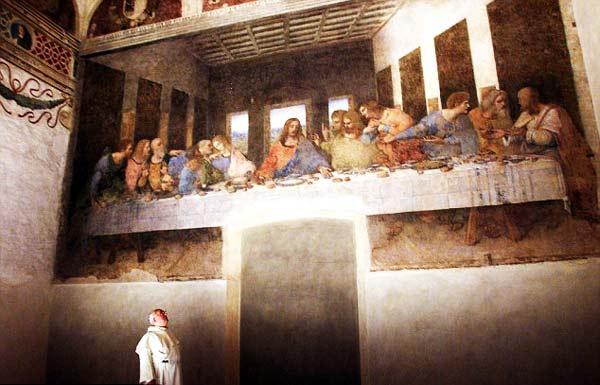 """perierga.gr - Ζωγράφισε ο Ντα Βίντσι τον εαυτό του στο """"Μυστικό Δείπνο"""";"""