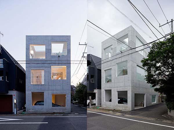 perierga.gr - House N: Σπίτι χωρίς πόρτες και παράθυρα;