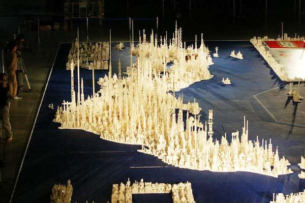 perierga.gr - Έφτιαξαν την... Ιαπωνία από 1,8 εκατομμύρια LEGO!