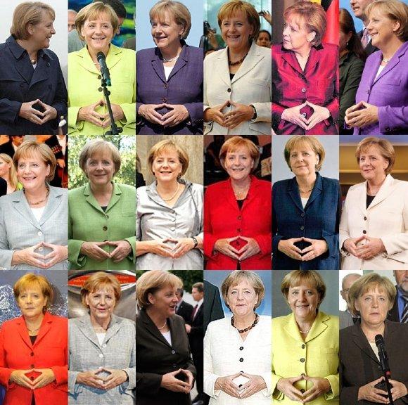 Perierga.gr - Τα χέρια της Μέρκελ... κόλλησαν στην ίδια θέση!