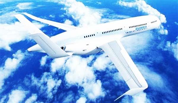 """perierga.gr - Τα """"έξυπνα"""" αεροσκάφη του 2050!"""