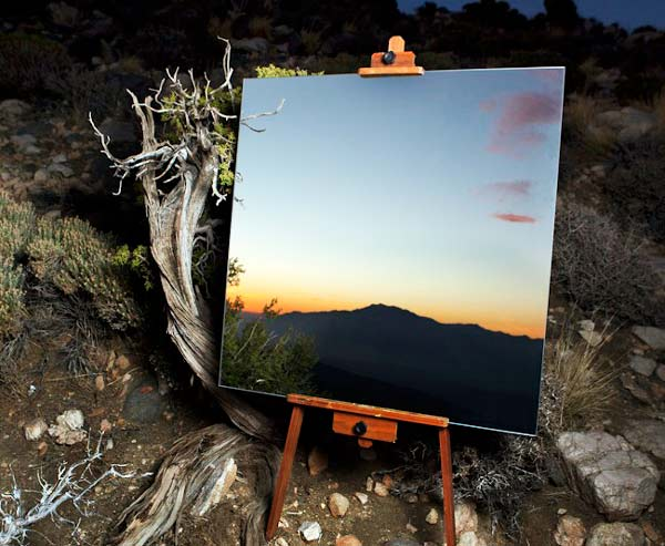 perierga.gr - Mirror Project: Καθρέφτες που μοιάζουν με πίνακες!