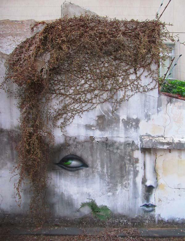 "perierga.gr - ""Παραμορφωμένα"" πρόσωπα στους δρόμους της πόλης!"
