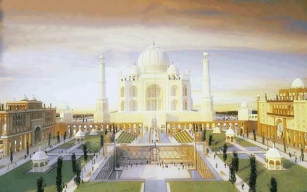 perierga.gr - Αντίγραφο του Ταζ Μαχάλ στο Ντουμπάι!
