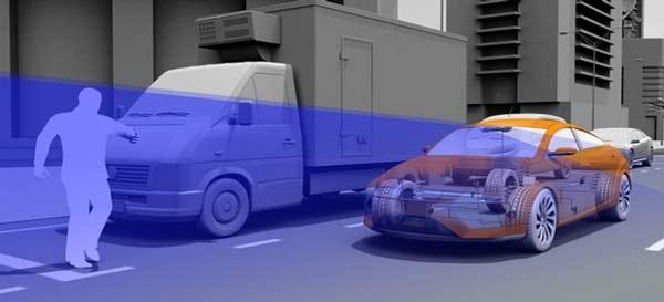 """perierga.gr - Αυτοκίνητο """"βλέπει"""" τους πεζούς και φρενάρει!"""
