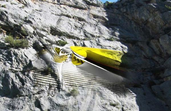 """perierga.gr - """"Κρεμαστό"""" ξενοδοχείο για ορειβάτες!"""