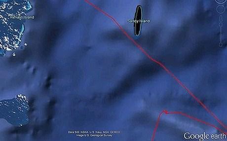 Perierga.gr - Μυστηριώδες νησί -φάντασμα στον Ειρηνικό