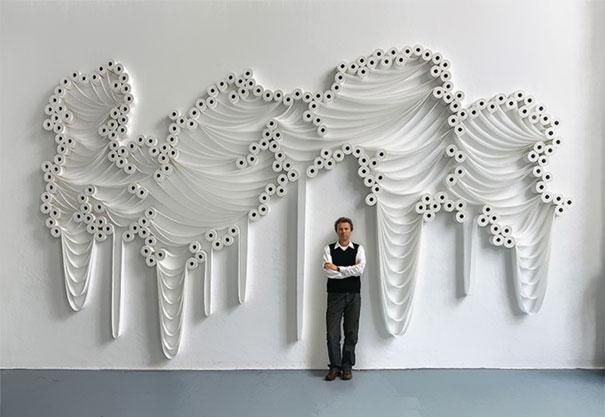 perierga.gr - Πρωτότυπα έργα τέχνης με χαρτί τουαλέτας!