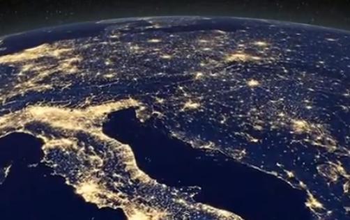 Perierga.gr - Η Γη τη νύχτα από το διάστημα!