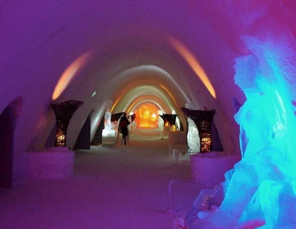 perierga.gr - Πρωτότυποι χώροι κατασκευασμένοι από πάγο!