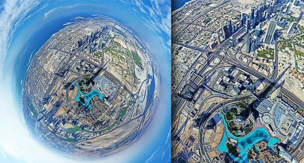 perierga.gr - Πανοραμική θέα 360 μοιρών από το ψηλότερο κτήριο στον κόσμο!