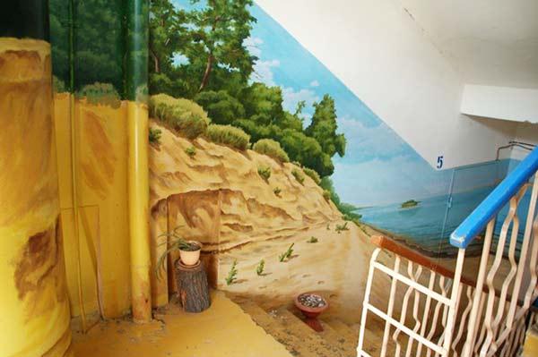 perierga.gr - Οι είσοδοι των σπιτιών έγιναν... γκαλερί τέχνης!