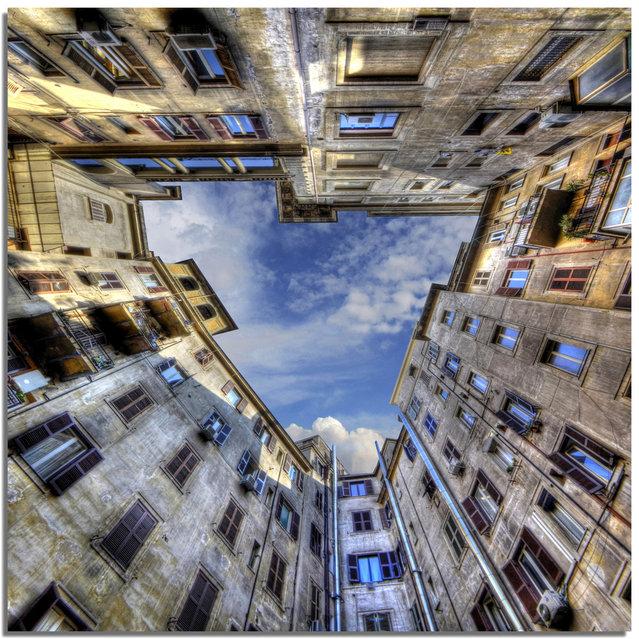 perierga.gr - Εντυπωσιακά κτήρια από... κάτω προς τα επάνω!