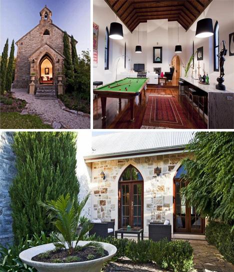 """perierga.gr - 8 εκκλησίες """"μεταμορφώνονται"""" σε απίθανες κατοικίες!"""