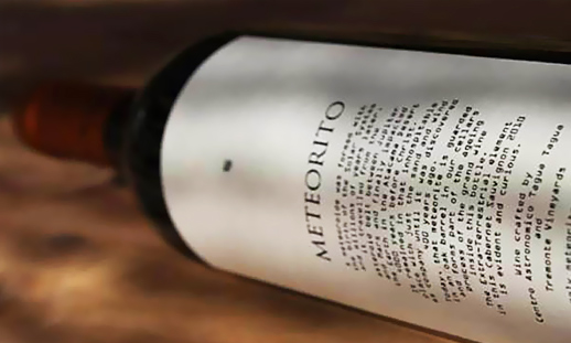 perierga.gr - Meteorito Wine: Σπάνιο κρασί από... μετεωρίτη!