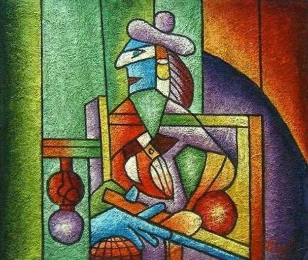 perierga.gr - Ο Πικάσο ζωγράφιζε με χρώματα για τοίχους!