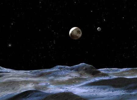 Perierga.gr - Δύο δορυφόροι του Πλούτωνα αναζητούν όνομα