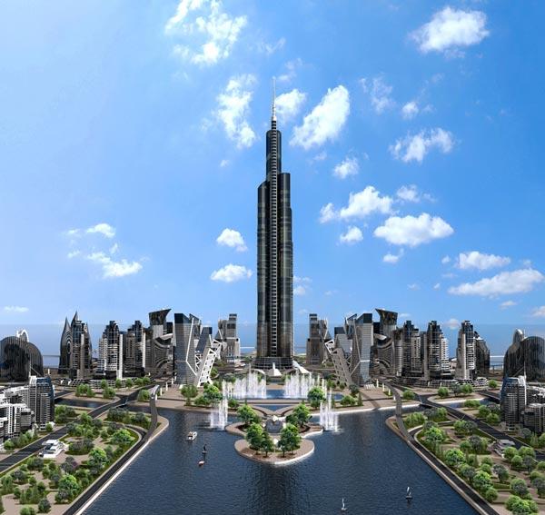 perierga.gr - Σούπερ ουρανοξύστες... αγγίζουν τον ουρανό!