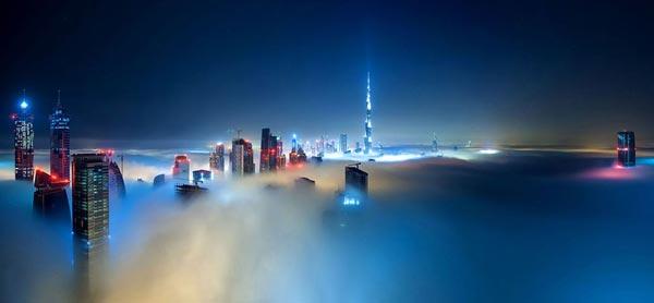 perierga.gr - Το Ντουμπάι σε πυκνή ομίλη!