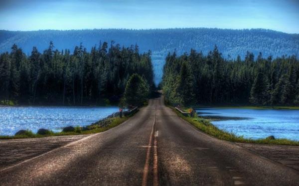 perierga.gr - Εντυπωσιακοί δρόμοι διασχίζουν φυσικά τοπία!