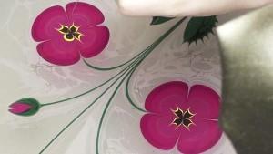 perierga.gr - Εκπληκτική ζωγραφική λουλουδιών στο νερό!