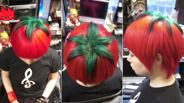 "perierga.gr - ""Ώριμη Ντομάτα"": Το νέο trend στα... μαλλιά!"