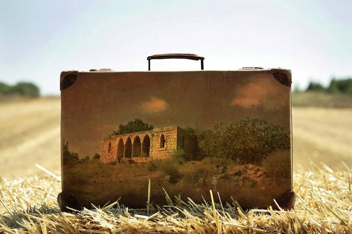perierga.gr - Vintage βαλίτσες γίνονται εκπληκτικά έργα τέχνης!