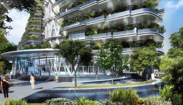 perierga.gr - Agora Tower: Η πολυκατοικία του μέλλοντος!