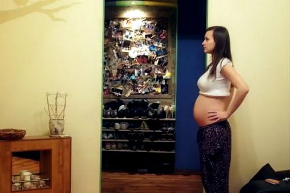 perierga.gr - Η εξέλιξη της εγκυμοσύνης σε 2 λεπτά!