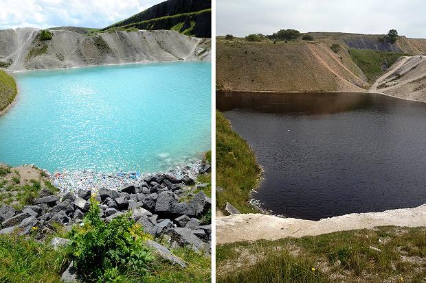 perierga.gr - Εντυπωσιακή τιρκουάζ λίμνη... έγινε μαύρη!