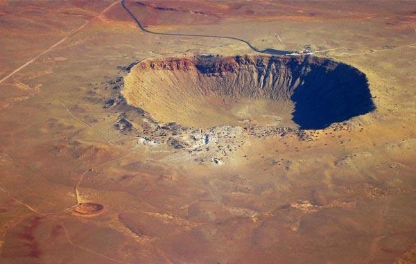 perierga.gr - Τεράστιος κρατήρας από μετεωρίτη στην έρημο της Αριζόνα!