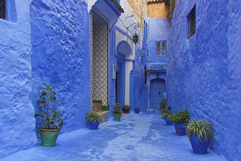 """perierga.gr - Chefchaoen: Η """"γαλάζια"""" πόλη του Μαρόκου!"""