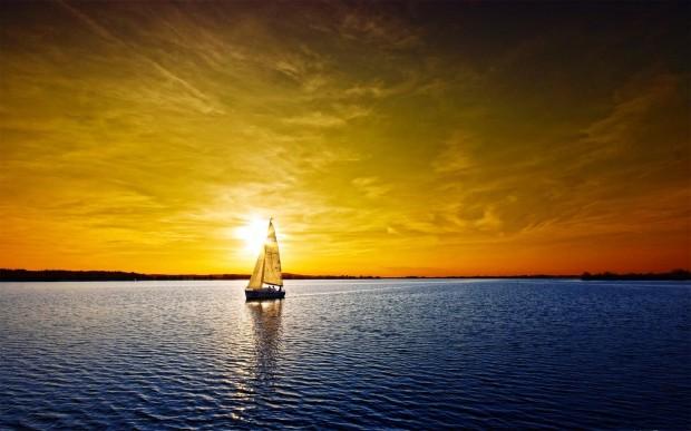 perierga.gr - Εντυπωσιακές εικόνες από την ανατολή του ήλιου!