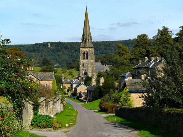 perierga.gr - Devonshire: Ένα χωριό βγαλμένο από παραμύθι!