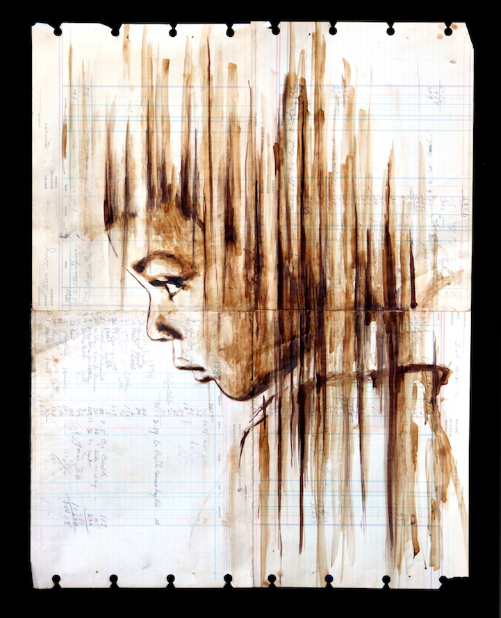 perierga.gr - Πανέμορφα πορτρέτα από καφέ σε πολυκαιρισμένο χαρτί!