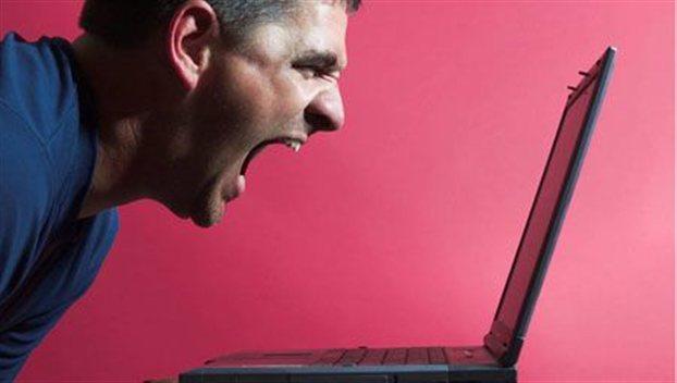 Perierga.gr - Ο θυμός το πιο έντονο online συναίσθημα