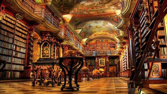 perierga.gr - Clementinum: Η εκπληκτική βιβλιοθήκη-μουσείο στην Πράγα!