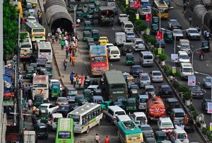 perierga.gr - H κίνηση στους δρόμους της Κίνας είναι χαοτική!