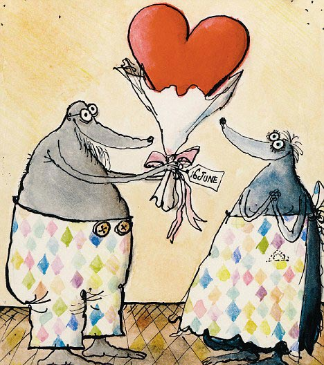 perierga.gr - Ζωγραφίζοντας την αληθινή αγάπη!