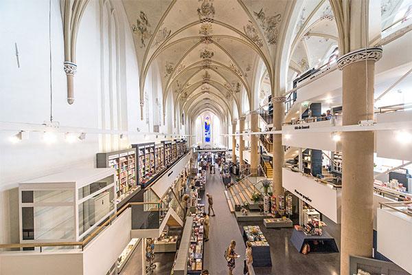 perierga.gr - Ιστορικός καθεδρικός ναός έγινε εντυπωσιακό βιβλιοπωλείο