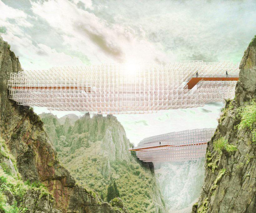 perierga.gr - Cloudbridge: Μια γέφυρα στα σύννεφα!