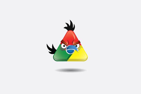 perierga.gr - Διάσημα λογότυπα εμπνέονται από τα Angry Birds!