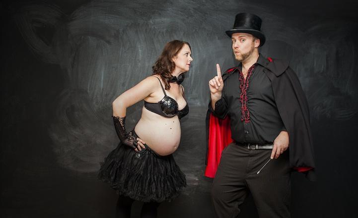 perierga.gr - Η χιουμοριστική ανακοίνωση της γέννησης ενός μωρού!