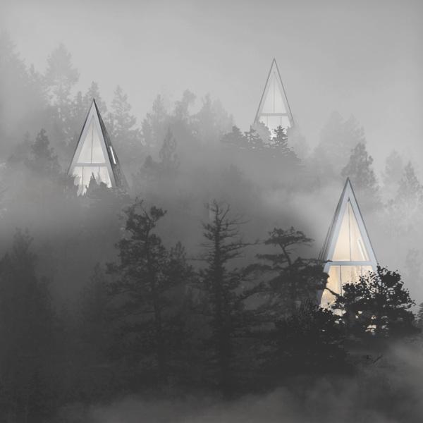 perierga.gr - Γυάλινες κατοικίες τοποθετούνται στο δάσος!